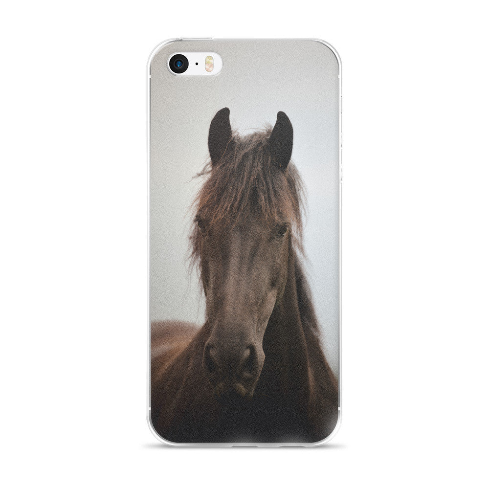 Must Love Horses - Black Beauty - iPhone Case (for 5, 6 and 6 Plus)