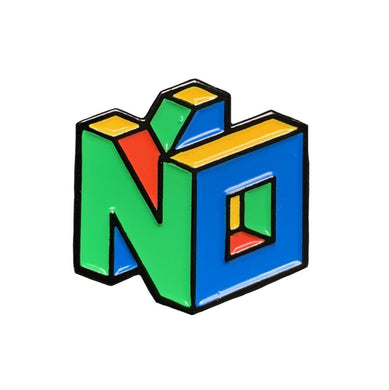 N64 No Enamel Pin #pinlordcollab winner with @pinpongco