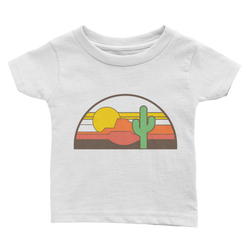 Desert Throwback Baby Shirt