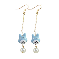 Chu Totoro Earrings