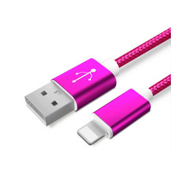 Hot Pink 3ft Lightning Cable