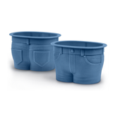Jeans Muffin top Baking Cups - Set of 4