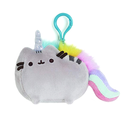 Pusheen Unicorn Backpack Clip