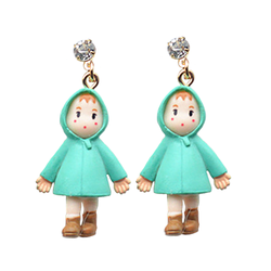 Totoro Mei Earrings