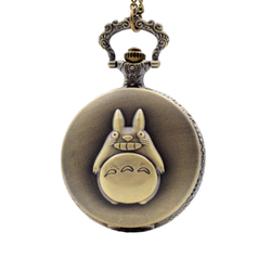 Totoro Vintage Pocket Watch Necklace