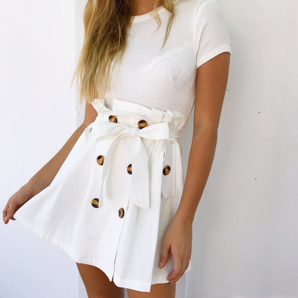Saint Skirt - White