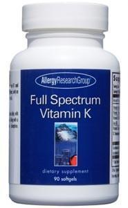 Allergy Research Group Full Spectrum Vitamin K