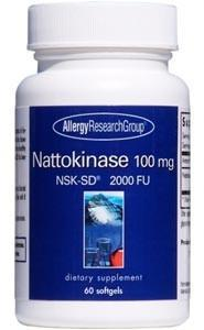 Allergy Research Group Nattokinase NSK-SD 100 mg
