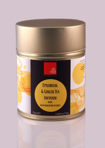 Dr Red Epilobium & Ginger Tea Infusion with Aged Oak Extract