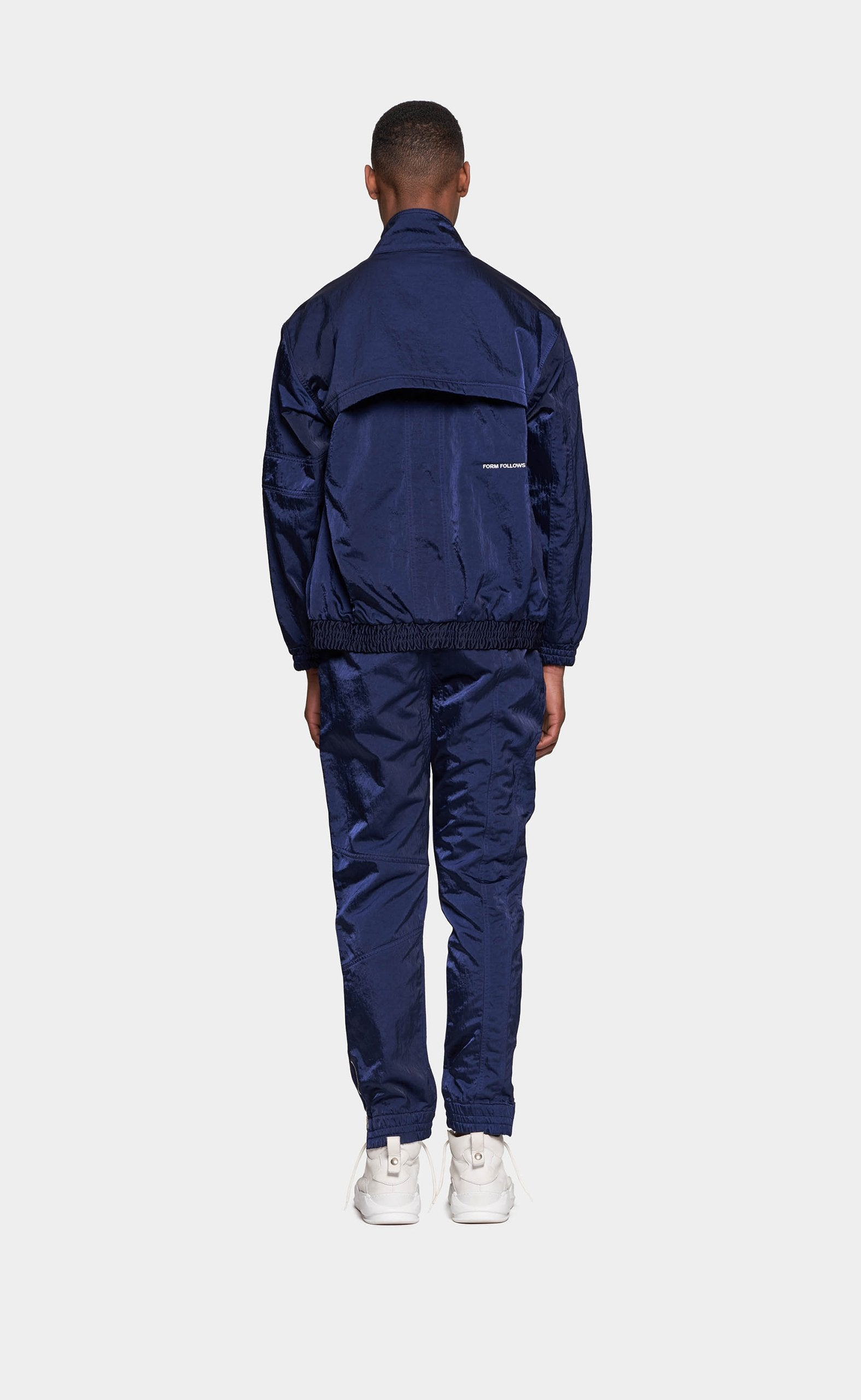Track Jacket Navy Blue
