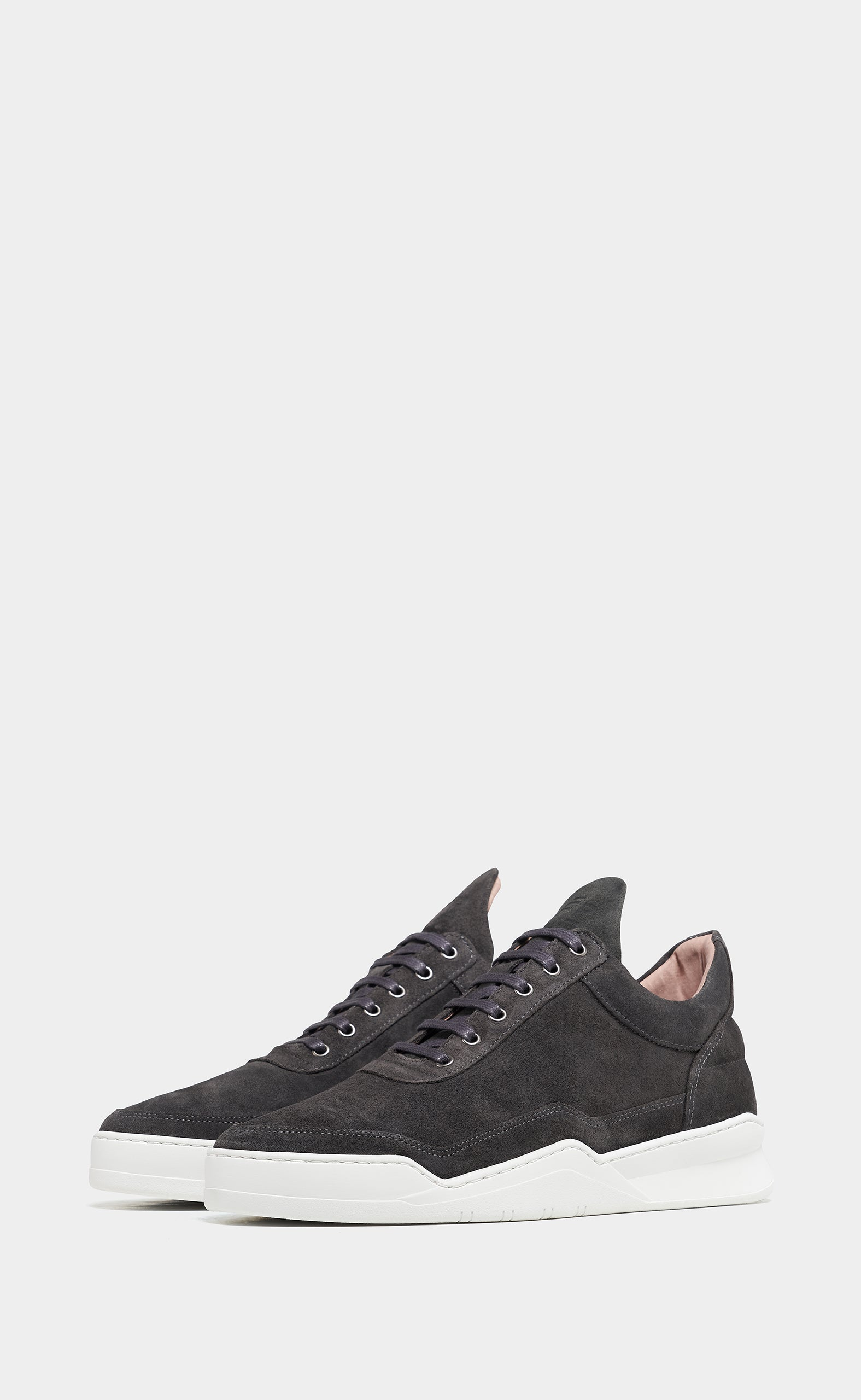 Low Top Ghost Suede Anthracite