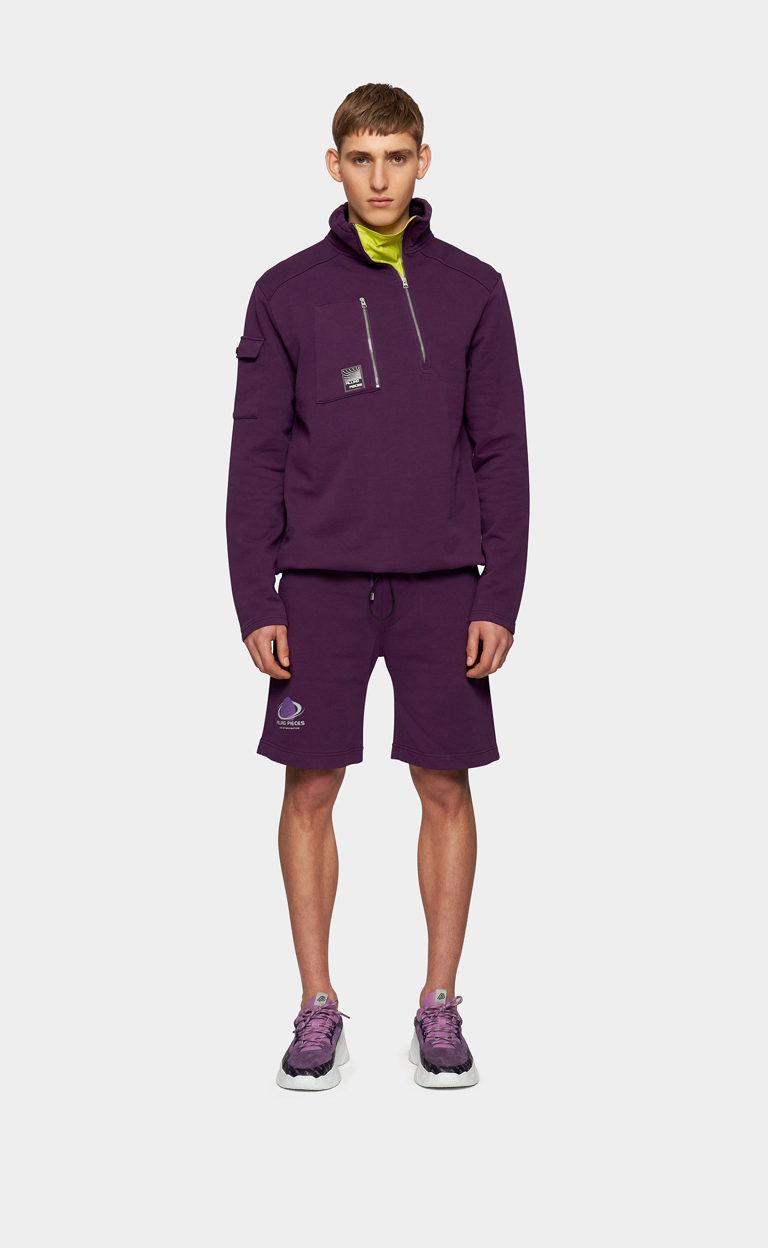 Sweat Shorts Planet Concord Grape