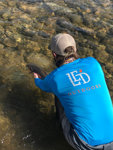 LED Outdoors™ Walleye Performance shirt