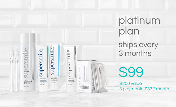 Platinum Smile Plan - Save Up To 44%