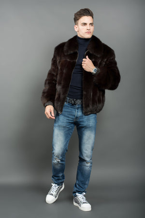 Russian Barguzin Sable Jacket