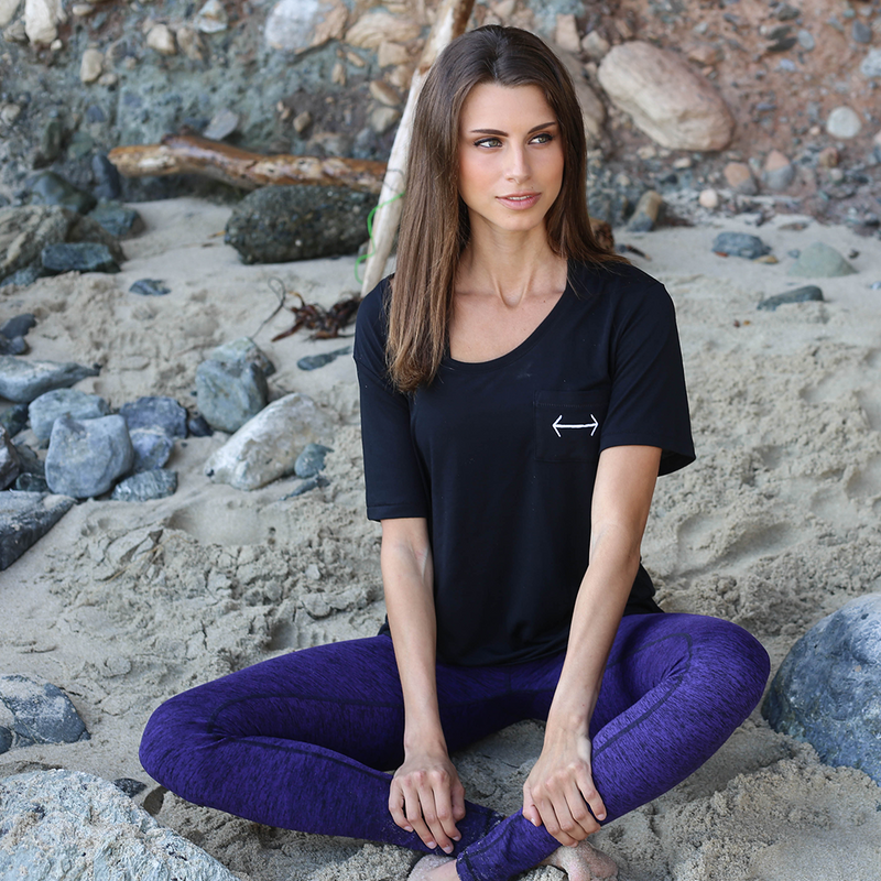 Our light weight, super soft pocket tee offers you a great place to hide your snacks. Try one out for yourself!