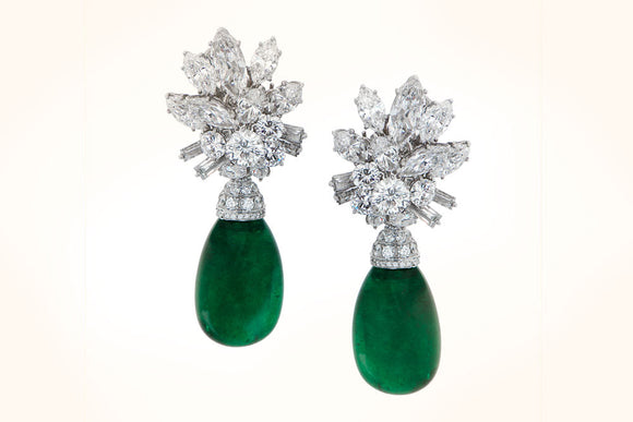 VCA Emerald Earrings