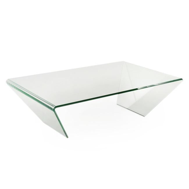 Bent Glass Coffee Table