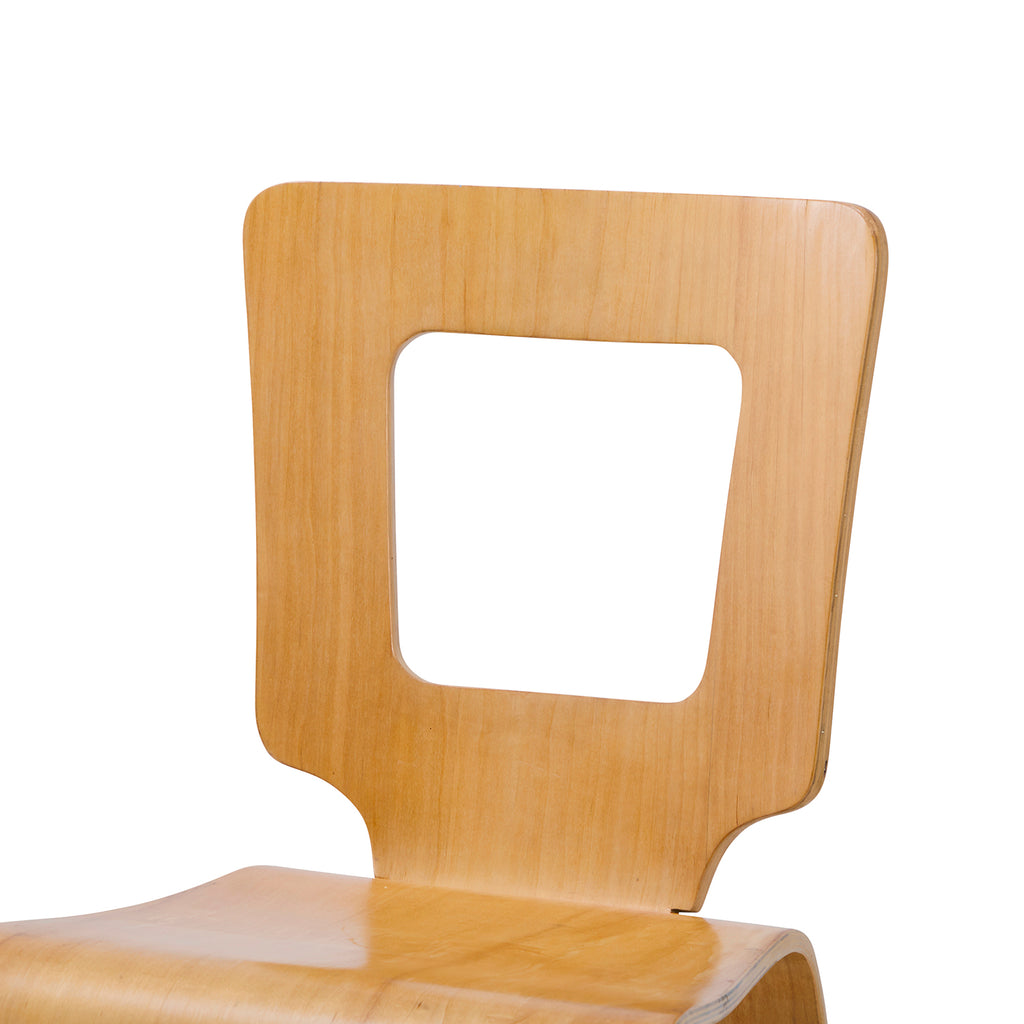 Cut Out Back Chair