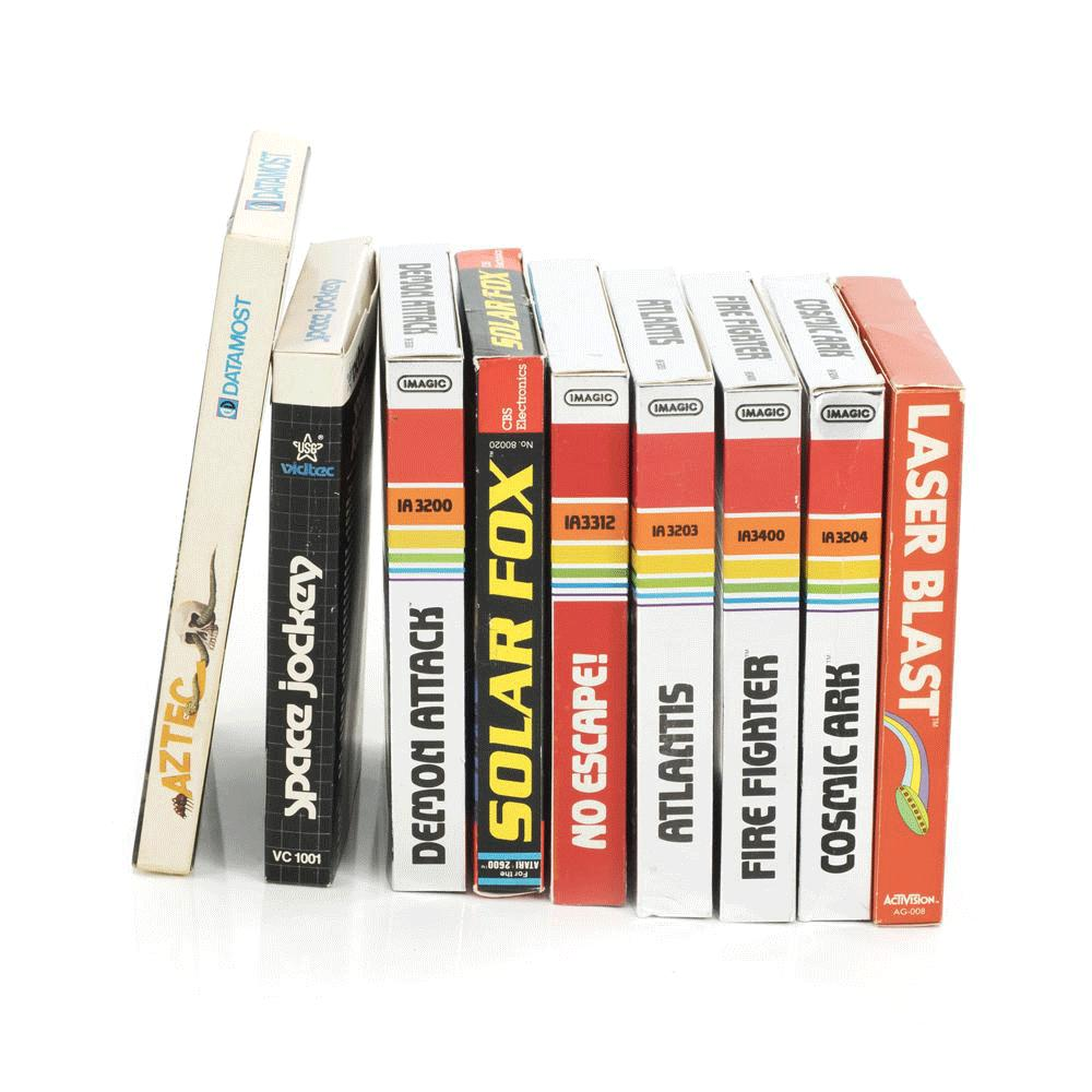 Atari Game Cartridges