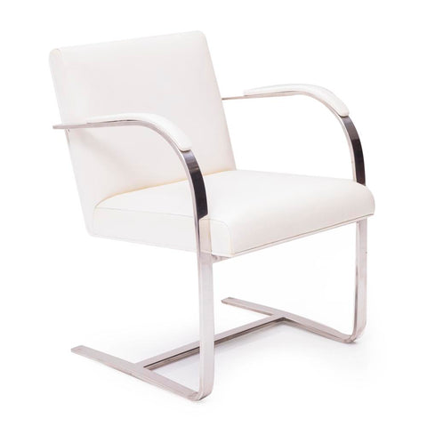 BRNO White Dining Chair