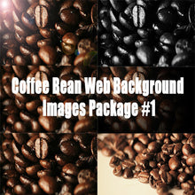 Coffee Bean Web Background Images Package #1