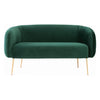 ALERO 2 Seater Sofa - Dark Green