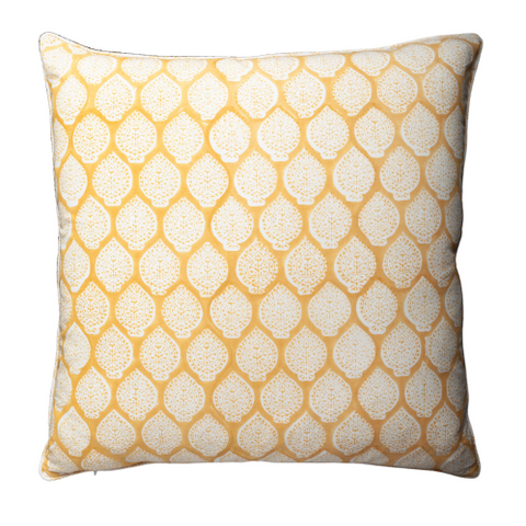 Cushion - Lotus Yellow