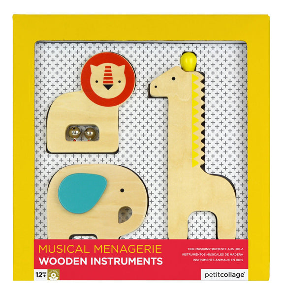 Wooden Instruments Musical Menagerie