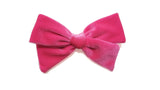 silk white Pinwheel Hairbow Oversize bow, school girl bow, fuchsia hair Bow, pink hair bow