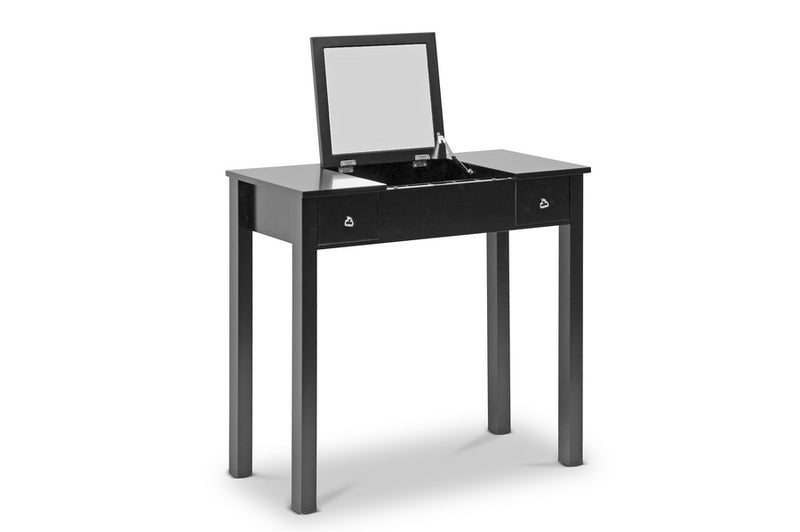Contemporary Vanity Table in Black