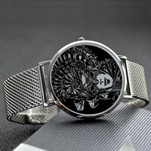 Night Minister 30 Meters Waterproof Quartz Fashion Watch With Casual Stainless Steel Band