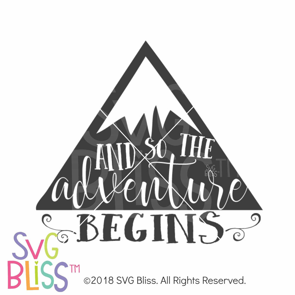 And So The Adventure Begins SVG DXF - SVG Bliss