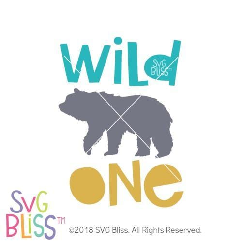 Wild One SVG DXF - SVG Bliss