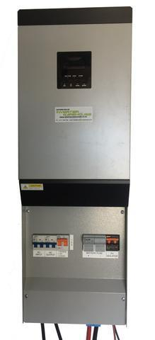 Axpert 3KVA Inverter Kit with Pre-wired AC DC Solar Back Plane