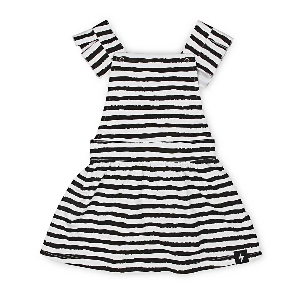 Brushed Lines Pinafore