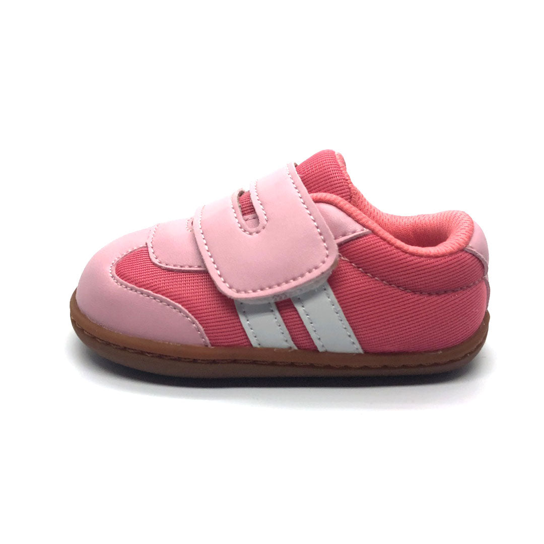 Ruby Baby Shoe Pink and White