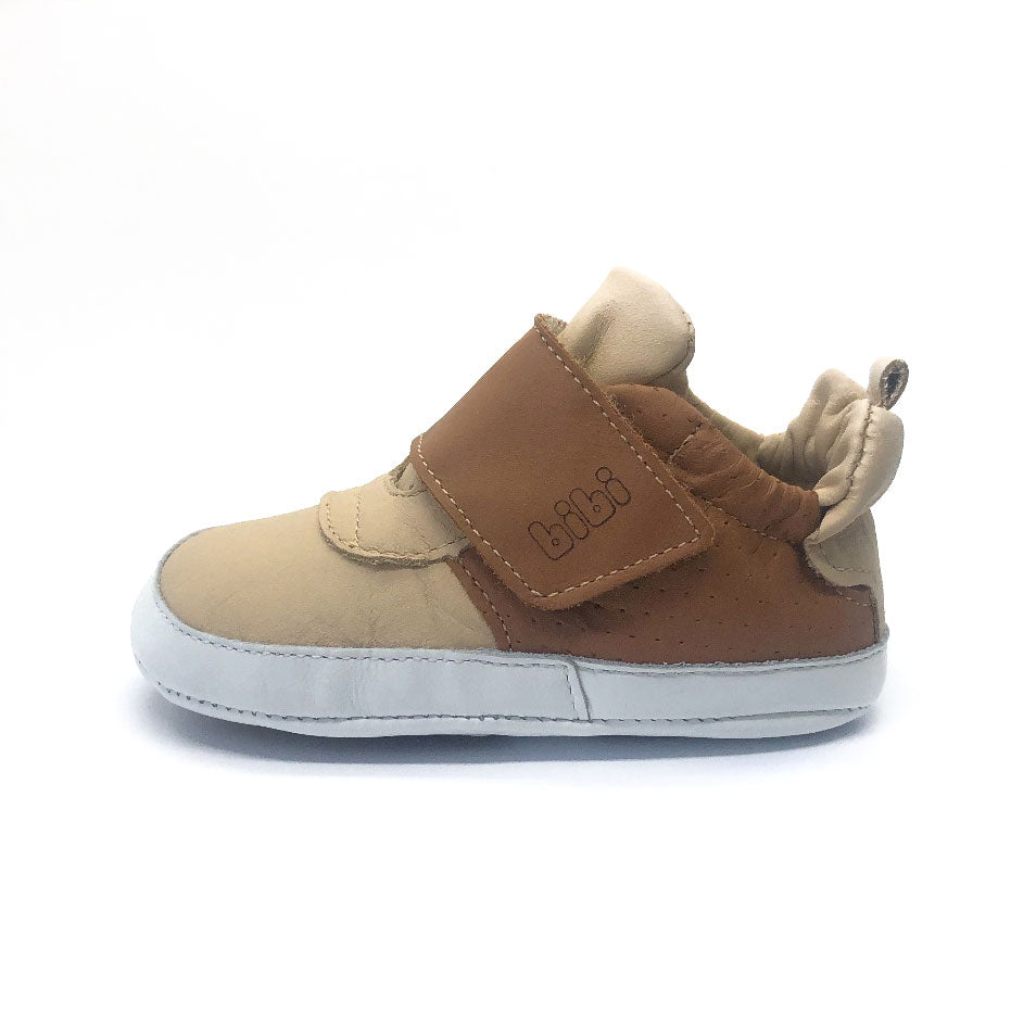 Afeto Baby Shoe Tan/ Beige