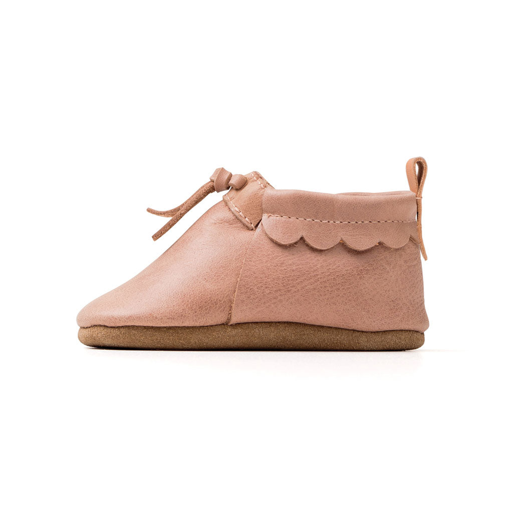 Baby Moc Dusty Pink