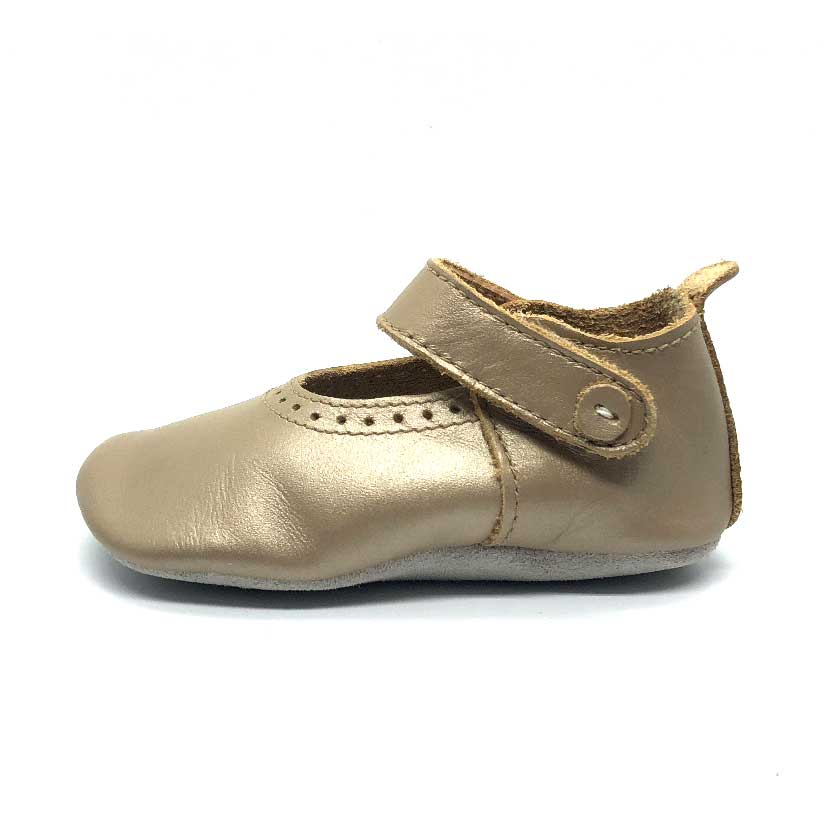 Gold Delight Soft Sole Baby Shoe