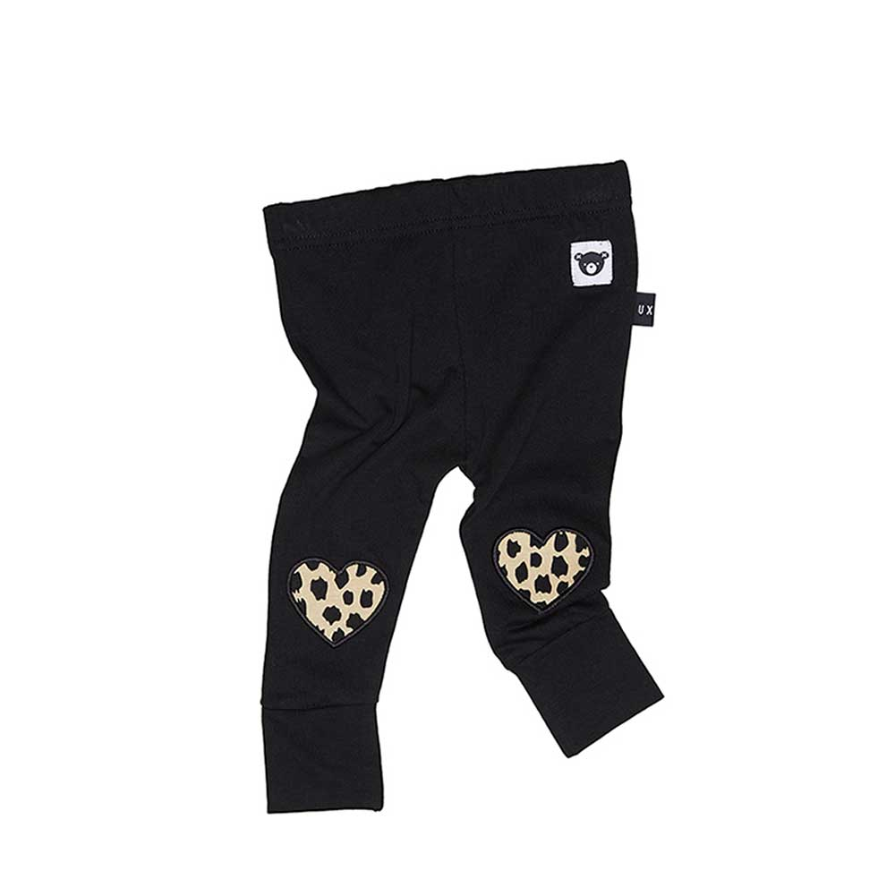 Leopard Heart Legging