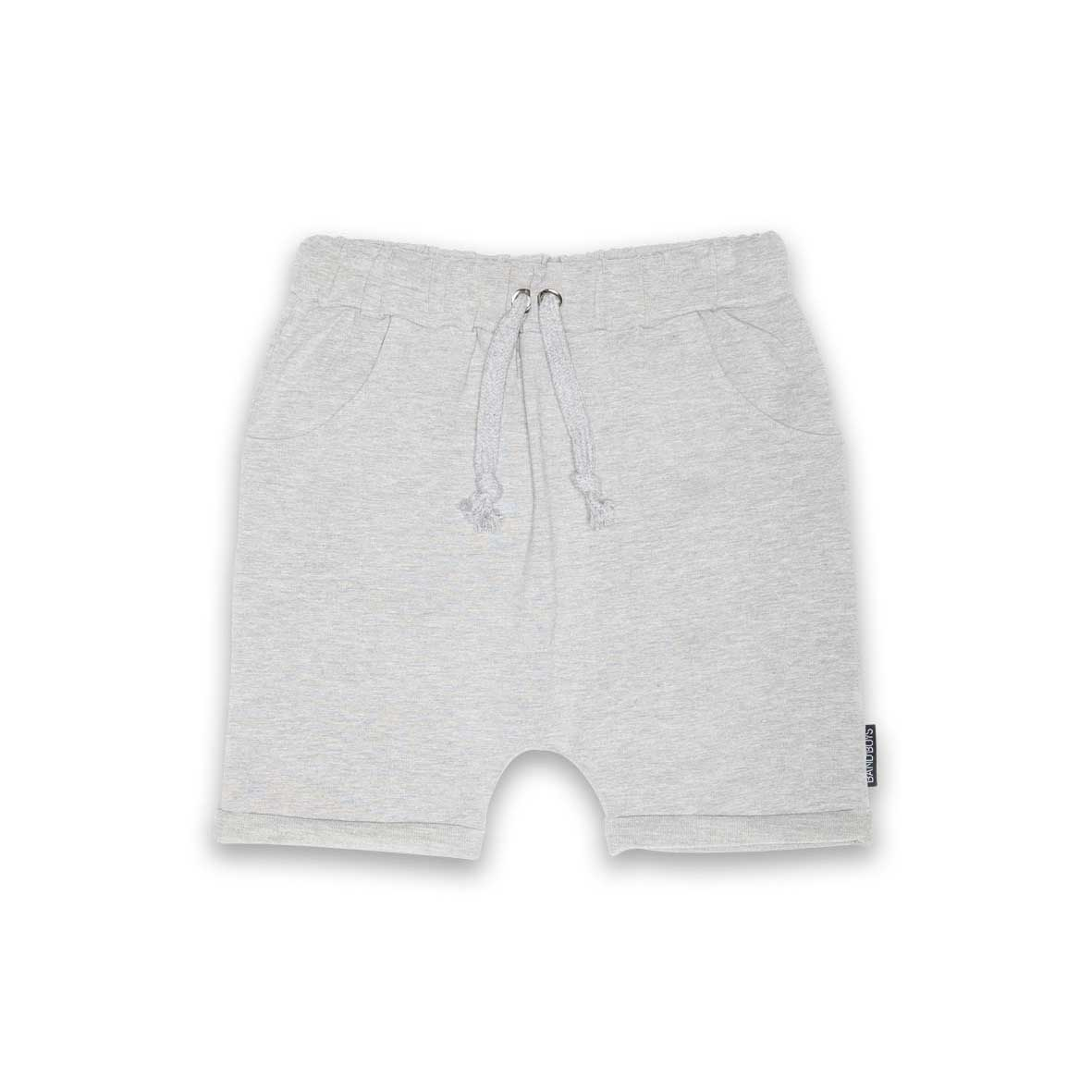Organic Shorts Grey Marle