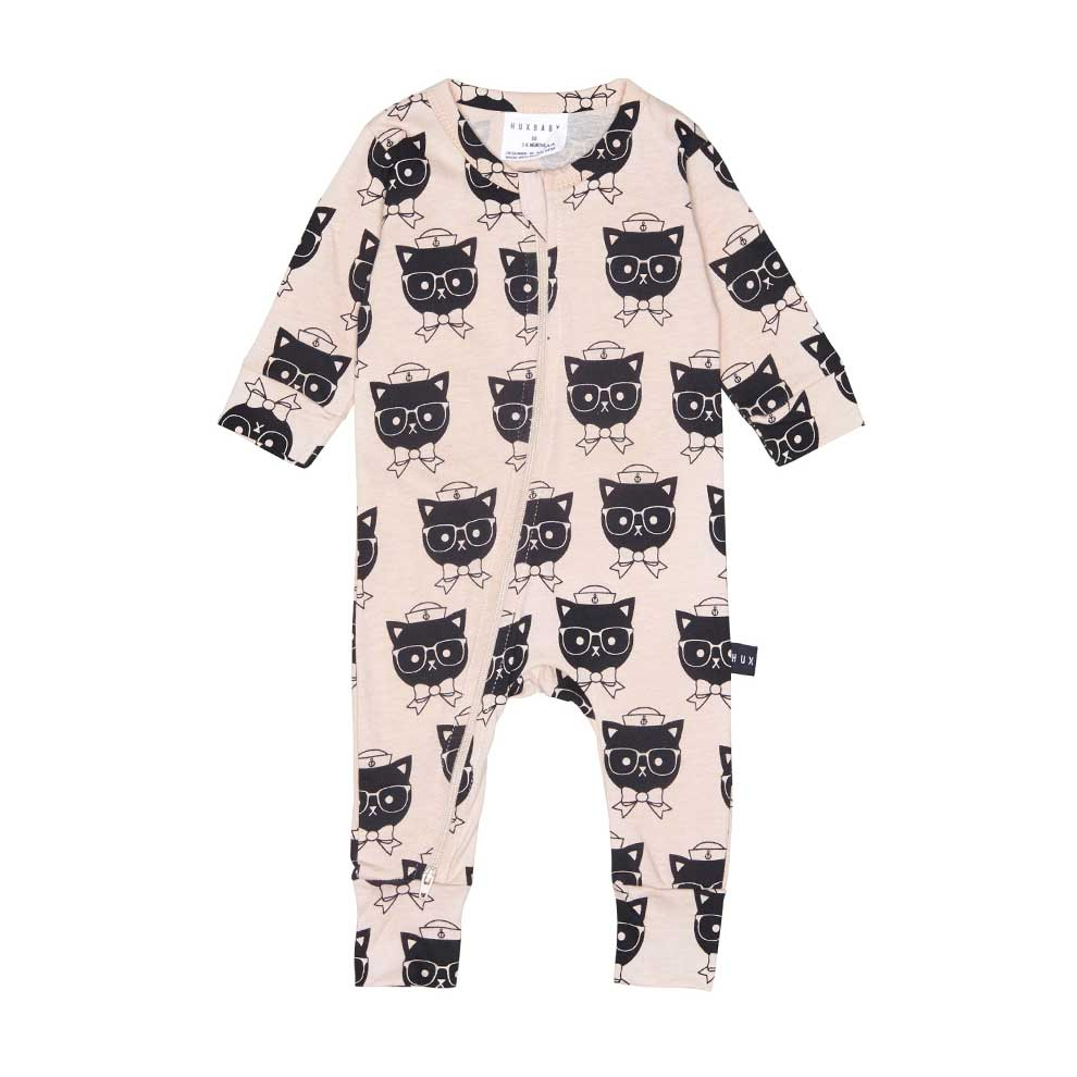 Sailor Cat Baby Romper