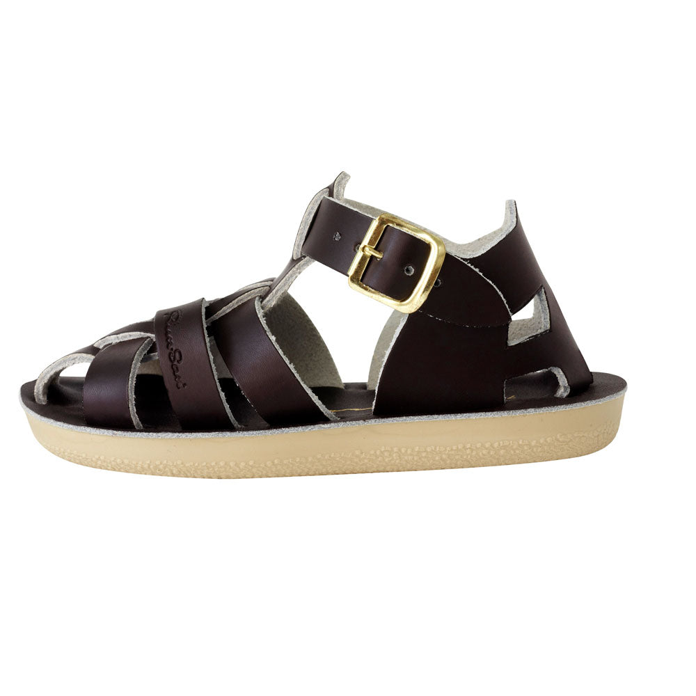 Sun-San Shark Sandal Brown