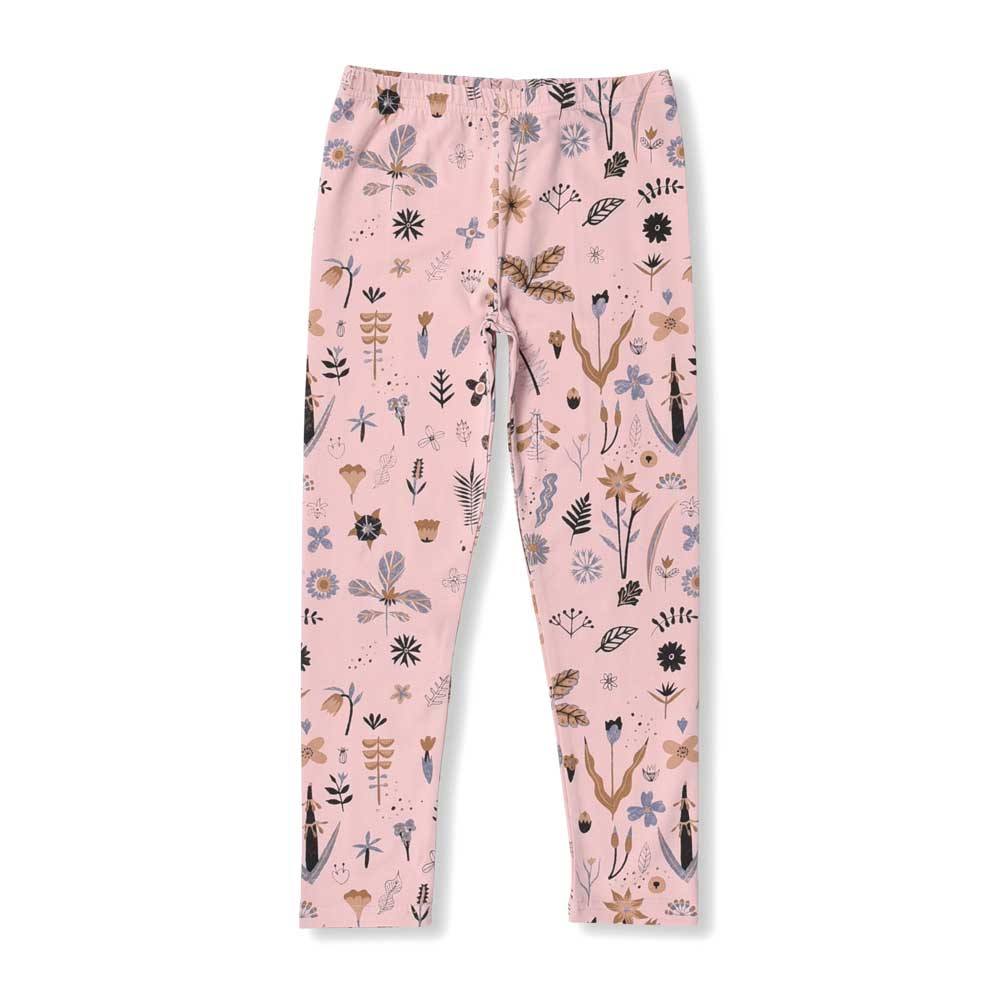 Winter Garden Leggings Pink