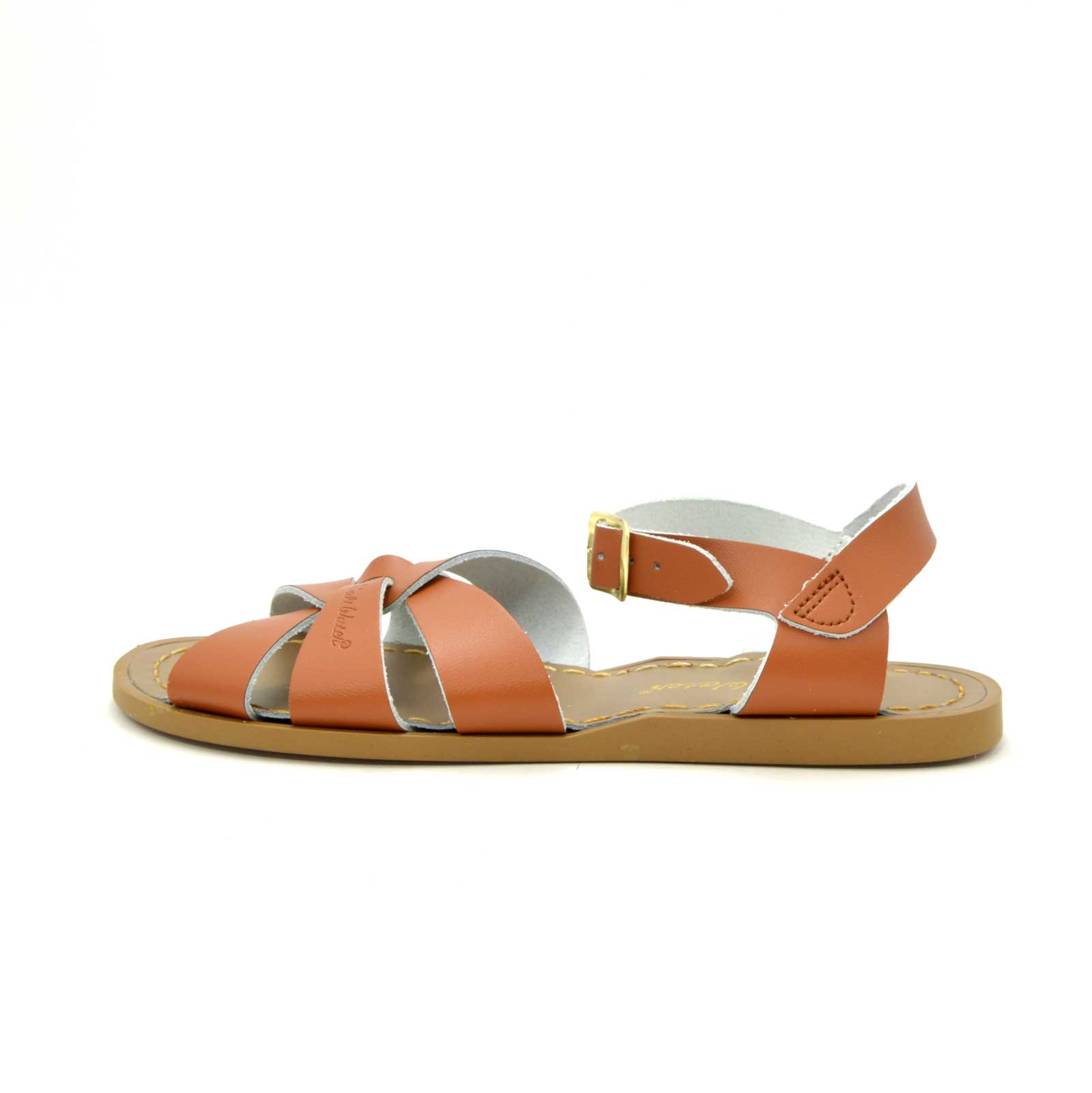 Womens Saltwater Sandals Tan