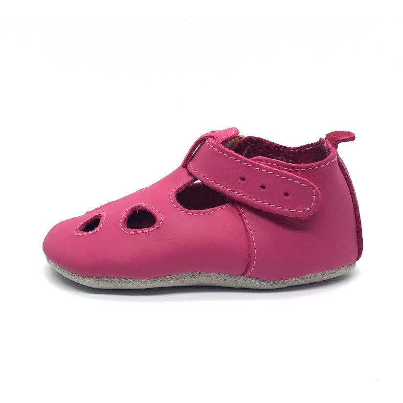 Zap Soft Sole Baby Shoe Hot Pink