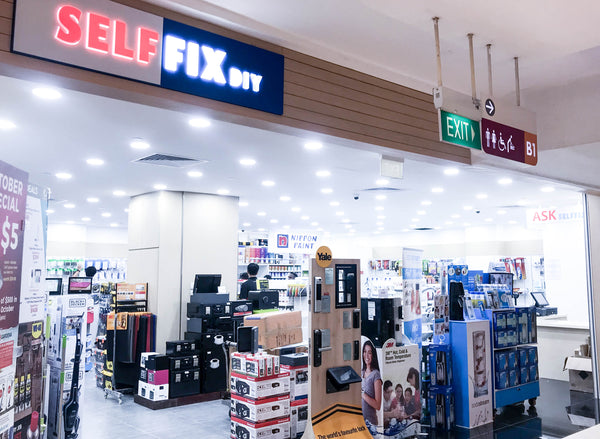 NEW PARTNER STORE: SELFFIX DIY LOT ONE