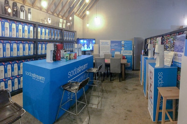 SodaStream Sparkling Center