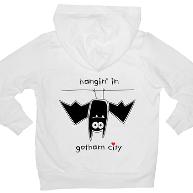 Bugged Out bat kids hoodie